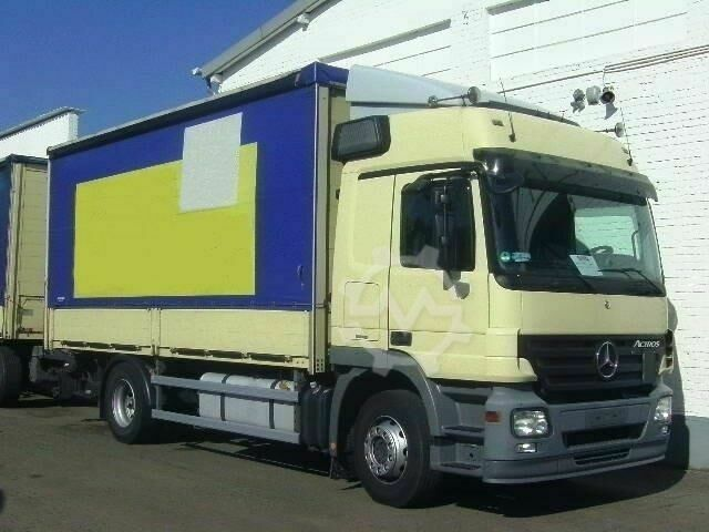 Mercedes-Benz Actros 1846L 4x2, MBB LBW 2,5 to. Standheizung