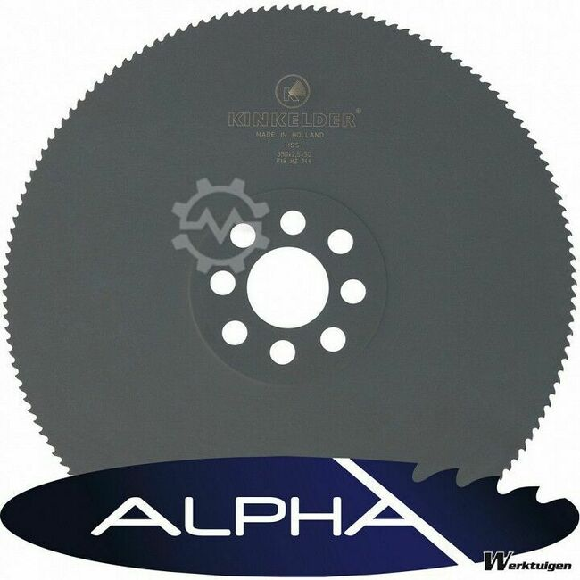 Alpha Zaagblad HSS alpha 225 x 2 x 32mm