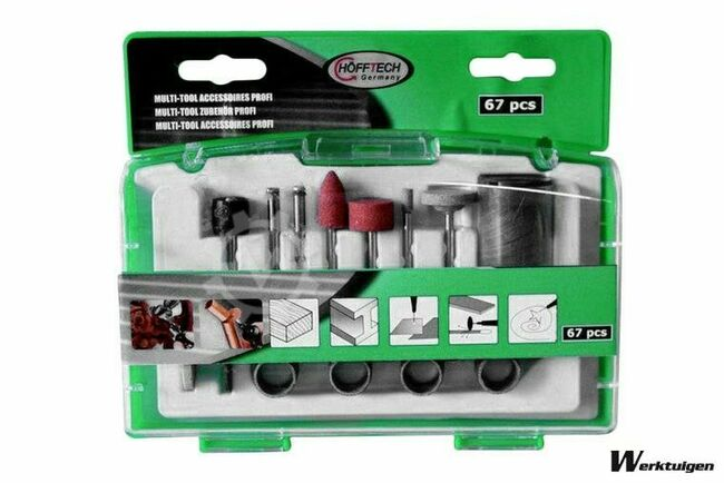 Trailer And Tools Multi tool accessoires set 67 delig