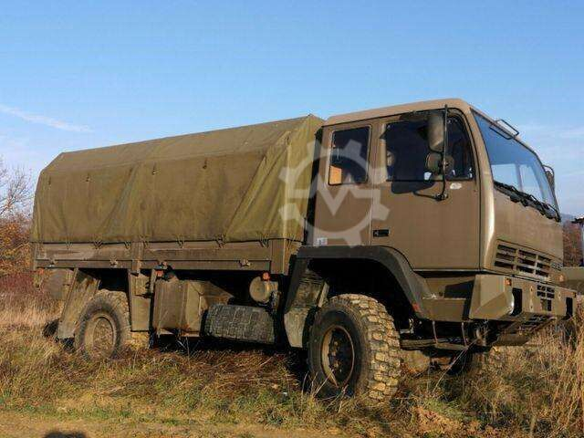 Steyr 12 M 18 4x4 Offroad Allrad Expeditions LKW