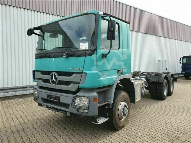 Mercedes-Benz Actros 3341 A 6x6 Actros 3341 A 6x6, MP3 Klima/NSW