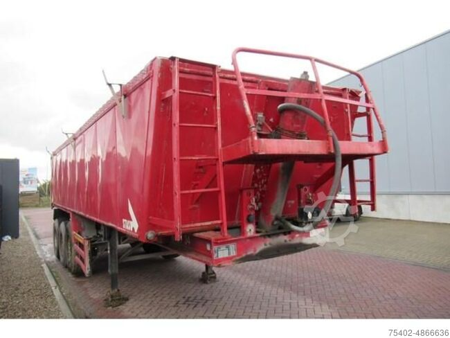 Stas ALU Tipper 27 m3 / MB Disc / Lift axle