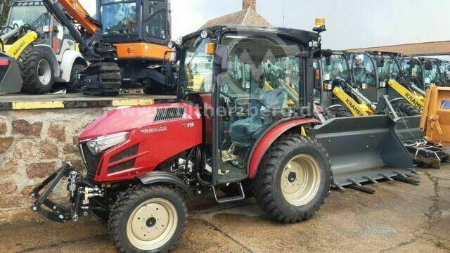 Sonstige/Other Traktor Yanmar YT235Q mit FKH , FH, FZW. Klima