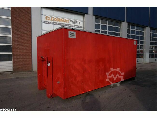 Oefencontainer brandweer