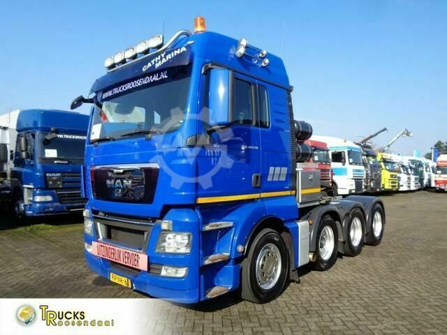 MAN TGX 42.540 Manual Euro 5 160 ton 8x4