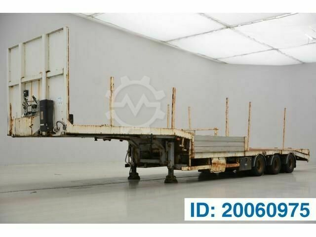 Sonstige/Other ASCA Low bed trailer
