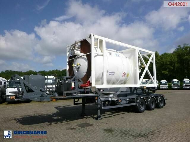 Sonstige/Other HTS 3 axle container trailer (sliding, tipping)