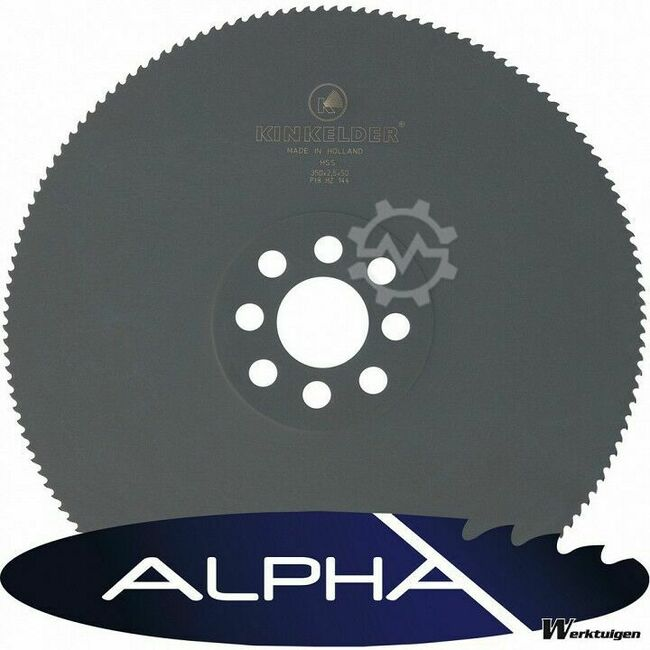 Alpha Zaagblad HSS alpha 250 x 2 x 32mm