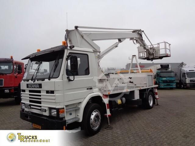 Scania 93M 210 Manual Pto High Platfrom