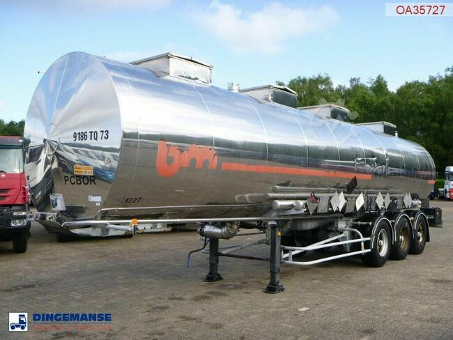 BSLT Chemical tank inox 33.6 m3 / 4 comp