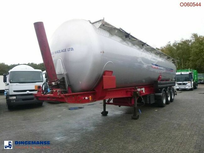 METALAIR FILLIAT Powder tank alu 58 m3 (tipping)