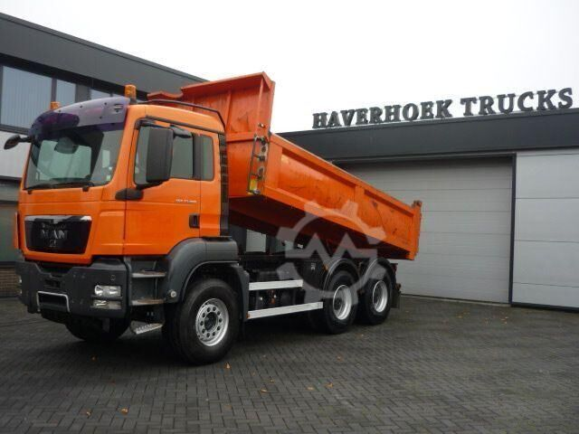MAN TGS 33.480 6x4 EURO 4 STEEL BACK TIPPER WITH RET