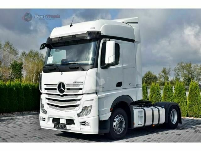 Mercedes-Benz Actros 1845 Bigspace 2 x Tanks / Leasing