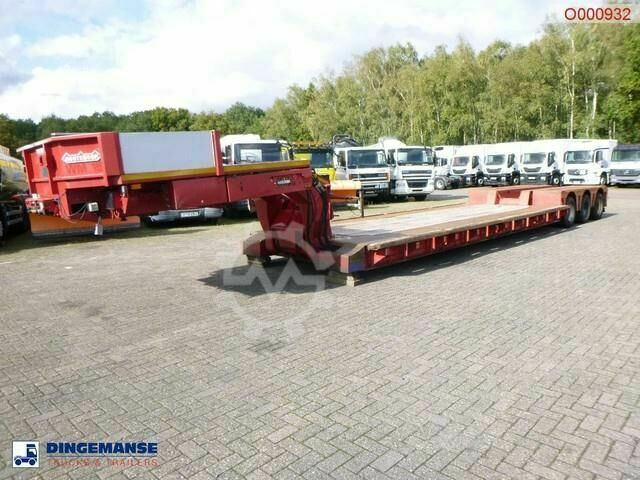 Nooteboom 3 axle lowbed trailer EURO 60 03 / 77 t