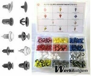 Trailer And Tools 120 Delige autoclips assortiment