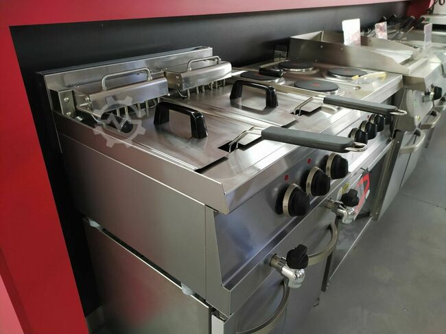 Sind Electric fryer 2x10 liters (table)