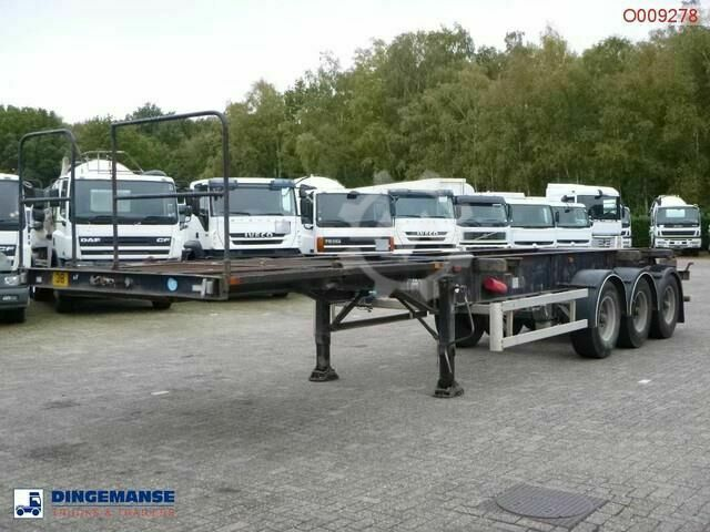 Sonstige/Other Overlander 3 axle container trailer 10 20 30 ft