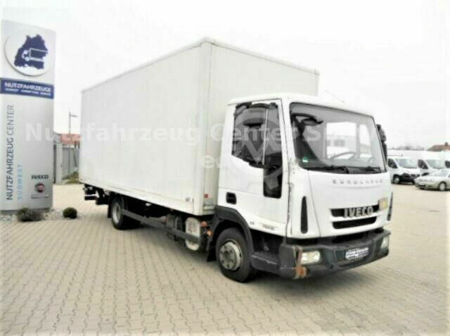 Iveco Eurocargo 75E16 Koffer mit Ladebordwand