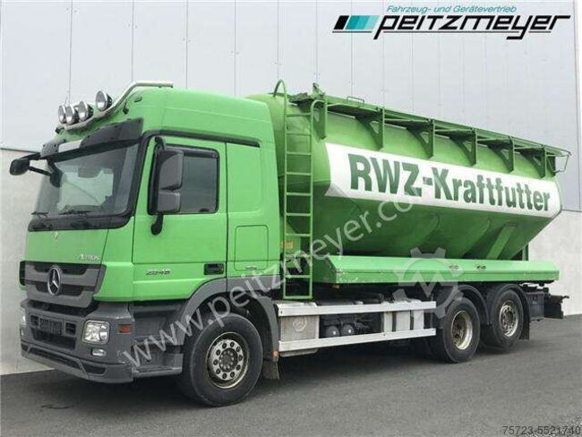Mercedes-Benz Actros 2548 LL Heitling Silo 31 m³