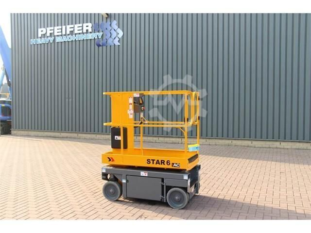 Haulotte STAR 6AC NEW AND UNUSED SELF PROPELLED STAR 6AC 20