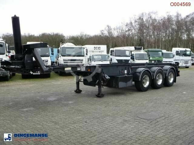 Sonstige/Other Weightlifter 3 axle container trailer 30 ft (tipp