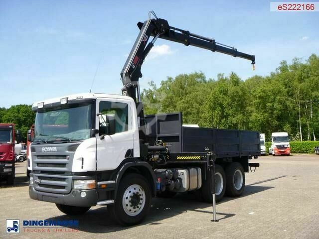 Scania P340 CB 6X4 Hiab XS166 D 3 CLX / NEW/UNUSED