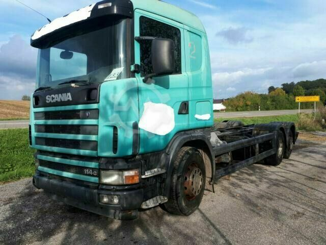 Scania 114 380, 6x2, EURO3, GERMAN, Blatt+Luft
