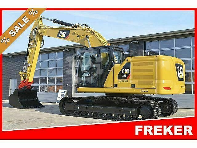 Caterpillar CAT 320 .. 2D technology + Hydraulik.. NEW - NEW