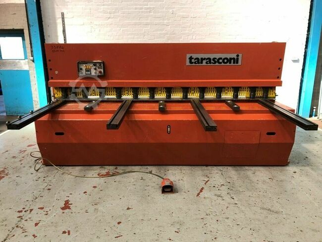 TARASCONI TC630 3100mm x 6mm Hydraulic Guillotine/Shear