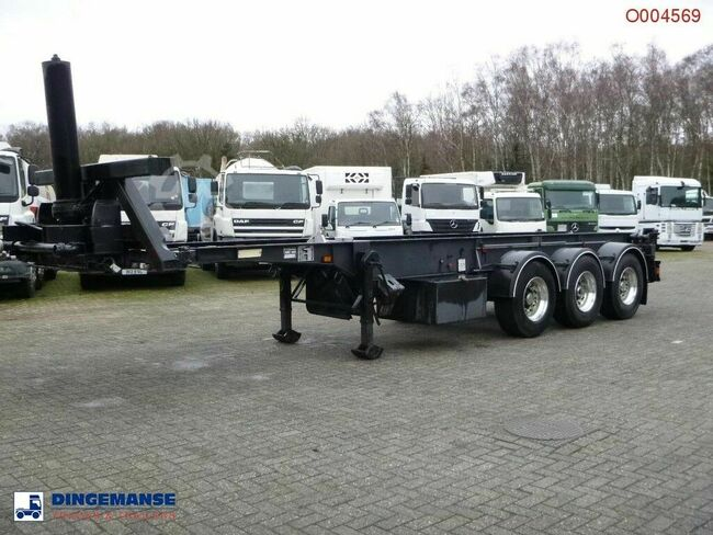 WEIGHTLIFTER 3-axle container trailer 30 ft (tipping)
