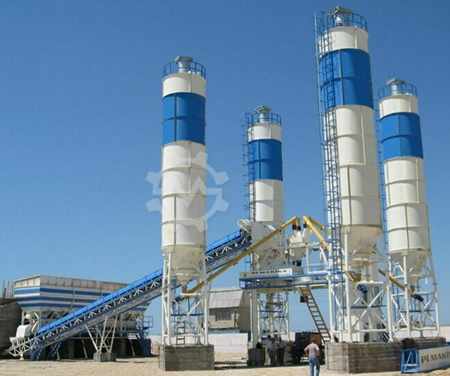 Pi Makina Concrete Batching Plant 30m3 - 240m3