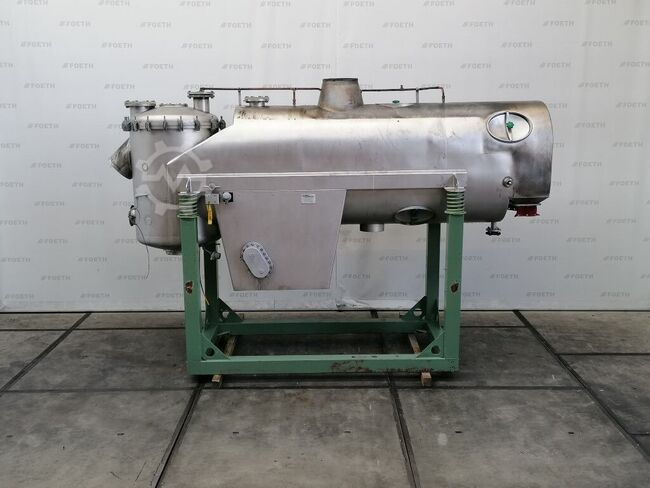 Niro Atomizer VFI/G/A 2,5 - Fluid bed dryer continuous