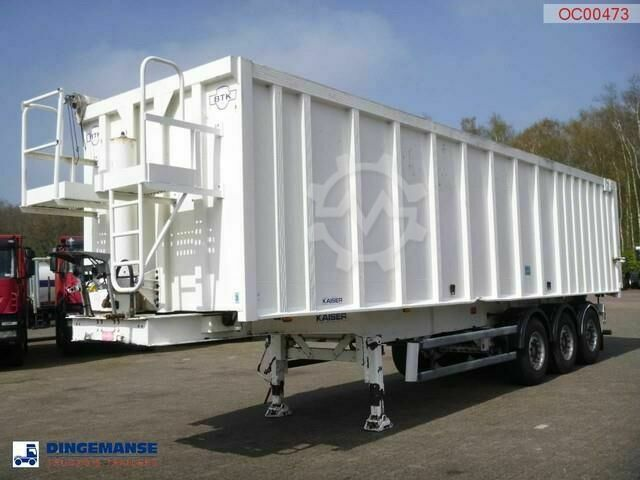 Kaiser Tipper alu / chssis steel 49 m3 /waterclosed body