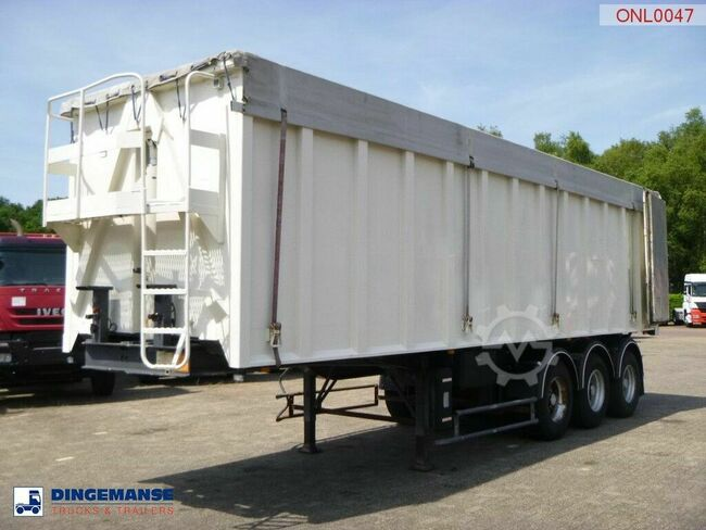 Benalu Tipper trailer alu 49 m3 doors
