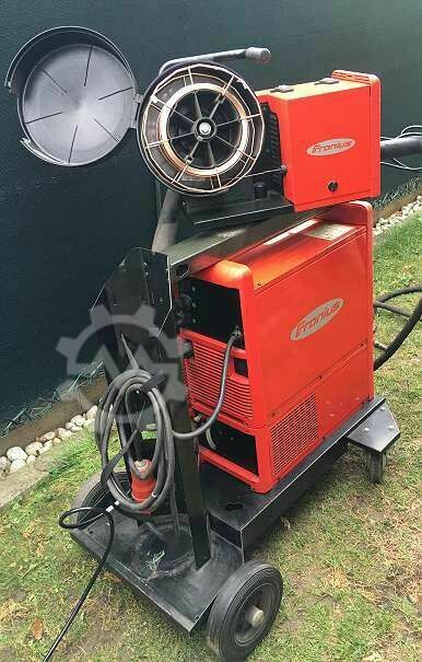 FRONIUS Trans Pulse Synergic 400 Ampere  READY to WELD --ᐳ  SOFORT EINSETZBAR