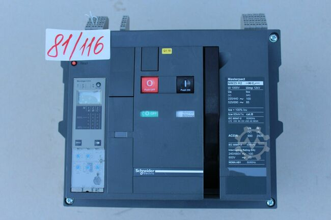 Schneider Electric 81/116 NW 25 H2