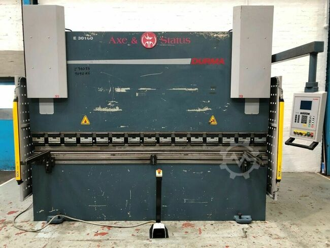 DURMA E30160 3000mm x 160 Ton CNC Press Brake