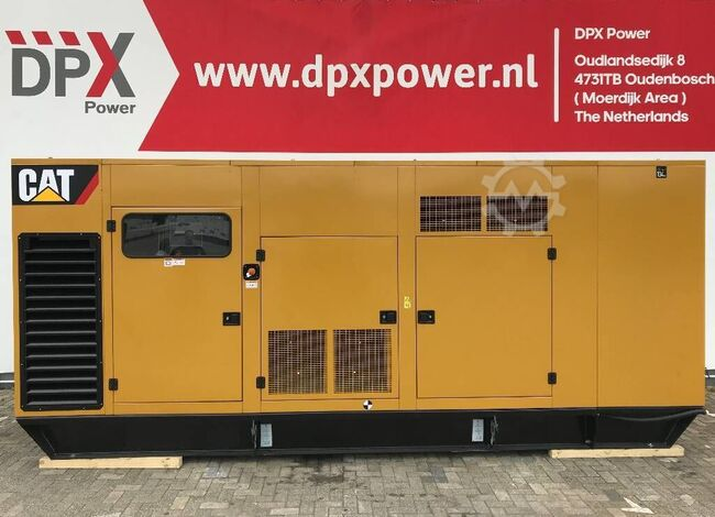 Caterpillar 3412 - 900F - 900 kVA Generator - DPX-18033