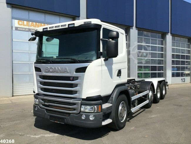 Scania G 450 8x2 Retarder chassis