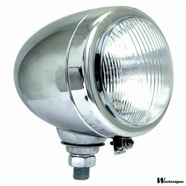 Barntools Tractor koplamp chrome 150 mm