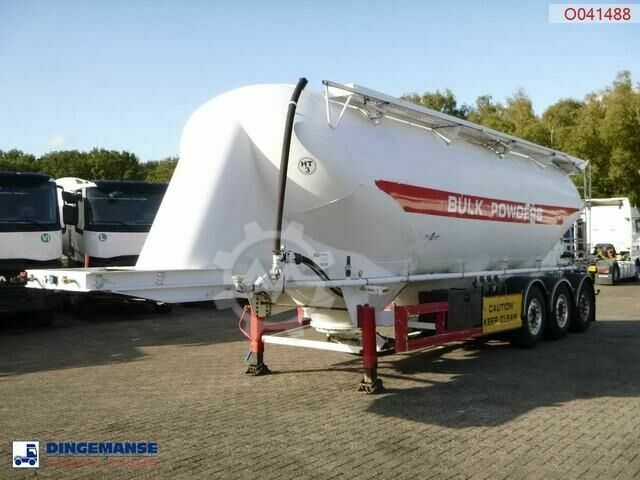 Spitzer Powder tank alu 40 m3 / 1 comp