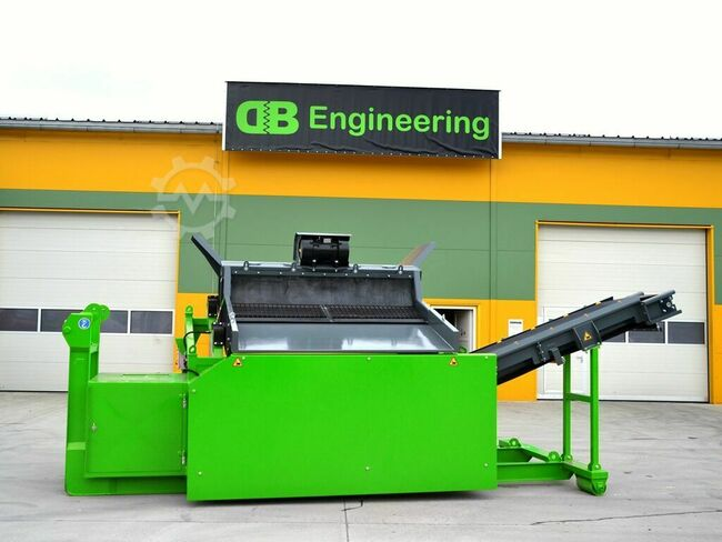 DB Engineering Traserscreen DB-40XL Siebanlage
