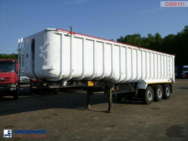 GENERAL TRAILERS Tipper alu / steel 41 m3 + tarpaulin