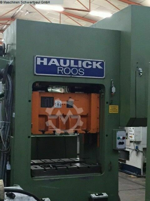 HAULICK & ROOS RVD 63 - 800NS