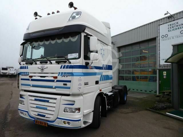 DAF XF105 410, 6 x 2 , SSC,euro 5, Superspace cab, TUV