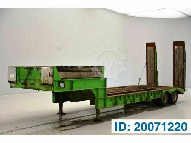 Sonstige/Other GHEYSEN & VERPOORT Low bed trailer