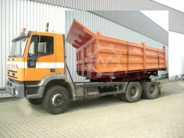 Iveco MAGIRUS 260EH 34 6x4 eFH./Umweltplakette Rot