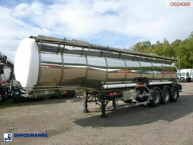 Hobur Chemical tank inox 32.6 m3 / 1 comp