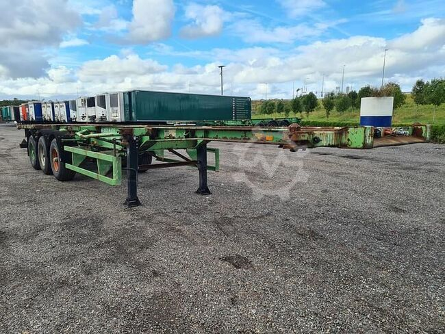 Krone SDC24ETC Container chassis 40ft. / 30ft. / 20ft...