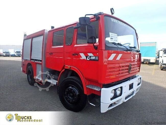 Sonstige/Other Renault G 230 MANUAL FIRE TRUCK 35889KM !